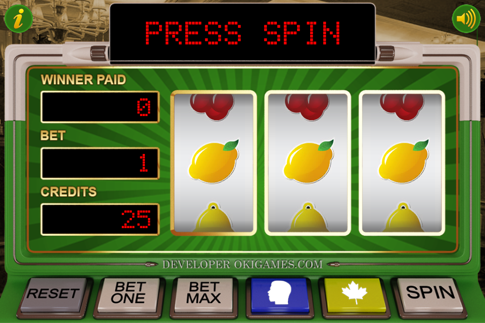 Screenshot 60x Slot Machine