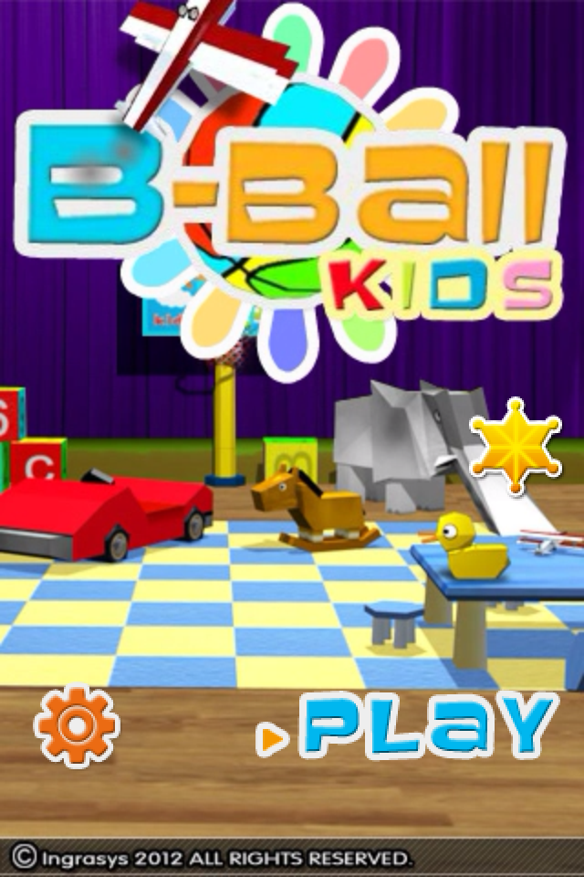 Screenshot B-Ball Kids