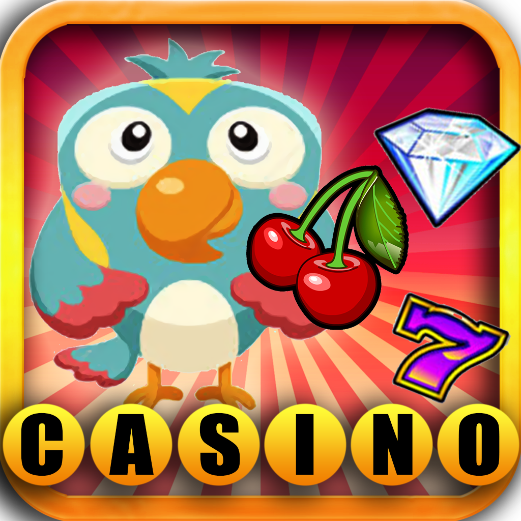 Cute Animals Casino Party Slot: Big Predators, Fish & Birds
